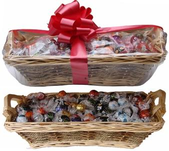 120 Piece Lindt Truffle Gift Basket